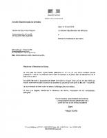 Arrêté préfectoral du 25 avril 2019