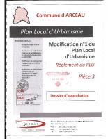 Règlement du PLU