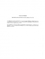 Approbation de la modification de droit commun n°1 du PLU