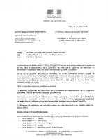 Arrêté préfectorale sur la limitation de l'usage de l'eau du 12 juillet 2019